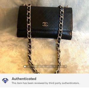 Authentic Chanel Wallet on Chain/WOC